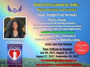 straight from the heart book study with dr jewel